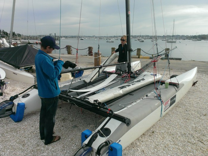 NACRA 17 at Sail Newport