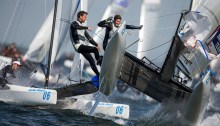 Olympic NACRA 17 sailing