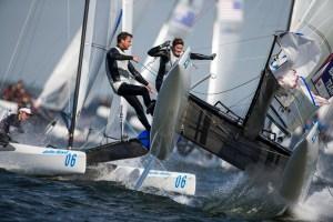 Olympic NACRA 17 sailing