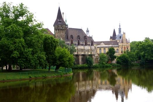 Vajdahunyad castle in City Park