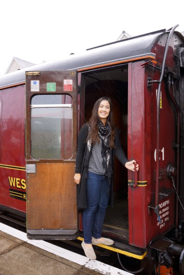 Just hopping on board the Hogwarts Express