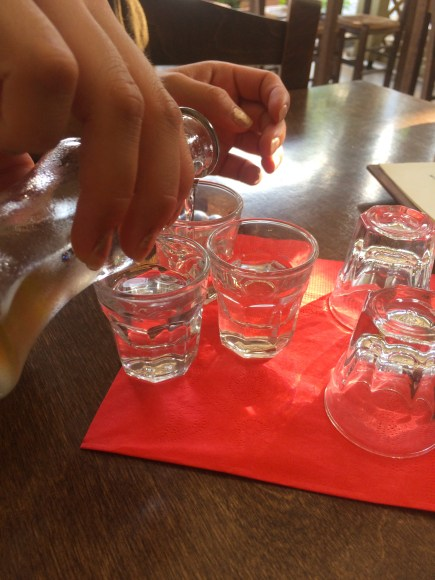 Free Raki from To Pinakio... it was strong to say the last