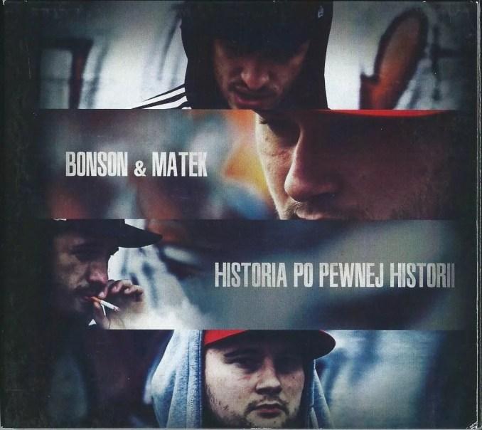 Okładka albumu Bonson & Matek - Historia po pewnej historii.