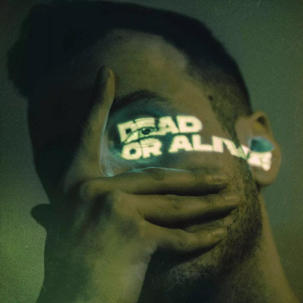 Igrektzet - Dead or Alive (okładka). Wykonanie okładki: Maciej Malik.