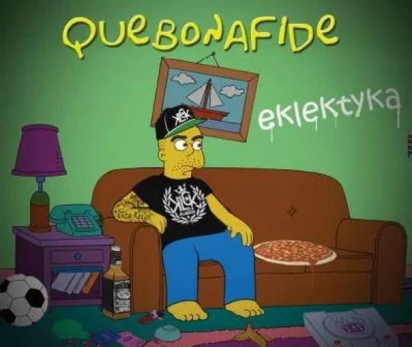 Quebonafide - Eklektyka (okładka)