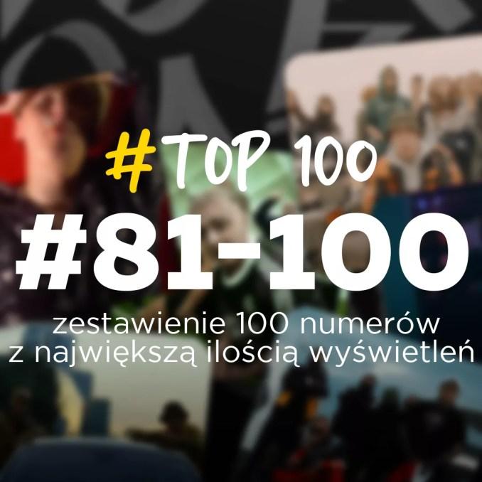 Top100 najpopularniejszych kawałków 2020 Followrap Miejsca 81-100