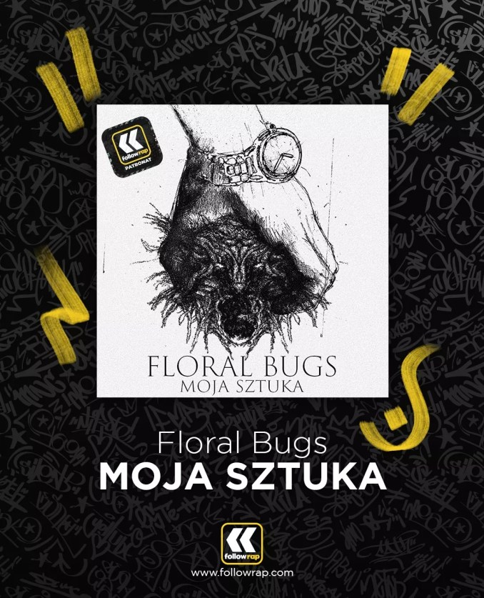 Floral Bugs Moja Sztuka okładka FollowRap