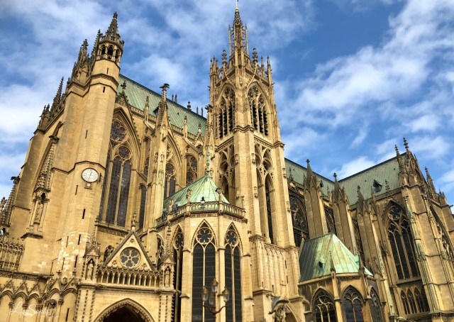 Metz, France may be small, but it's definitely makes the list of cities to visit.