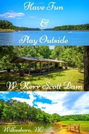 Awesome outdoor activities W Kerr Scott Dam
