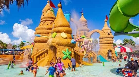 The Beach Waterpark is definitely one of the fun activities on South Padre