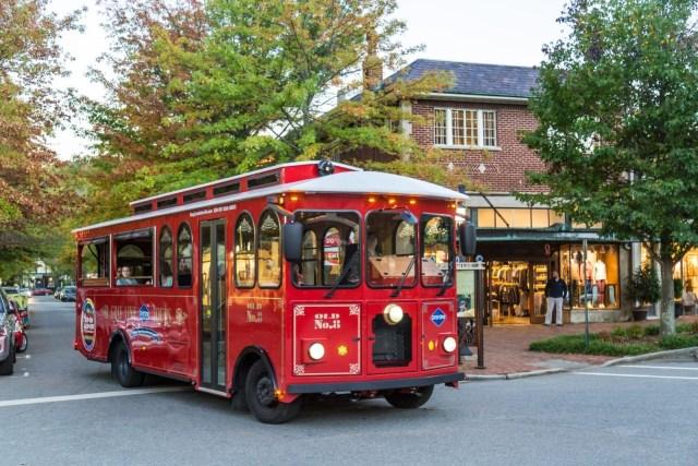 Gray Line Trolley - Asheville North Carolina