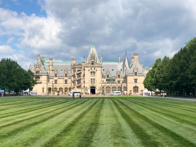 The Biltmore Estate is the top site to see in Asheville North Carolina