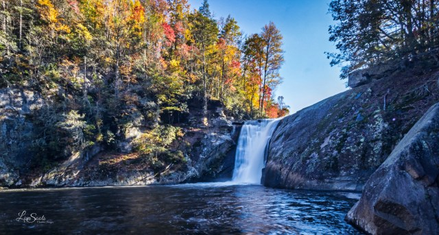 Elk River Falls is one of the beautiful waterfalls to see near Wilkesboro, NC