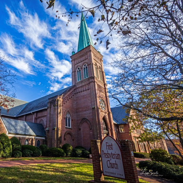 First Presbyterian Church - Photographic Tour of Historic Downtown Asheville, NC