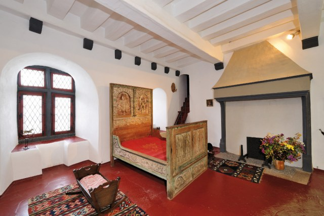 Eltz Castle- Countess' Bedroom
