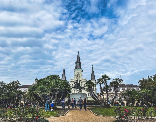 Jackson Square is one of the most iconic images of New Orleans