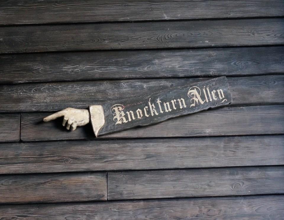 Wizarding World Orlando - Knockturn Alley
