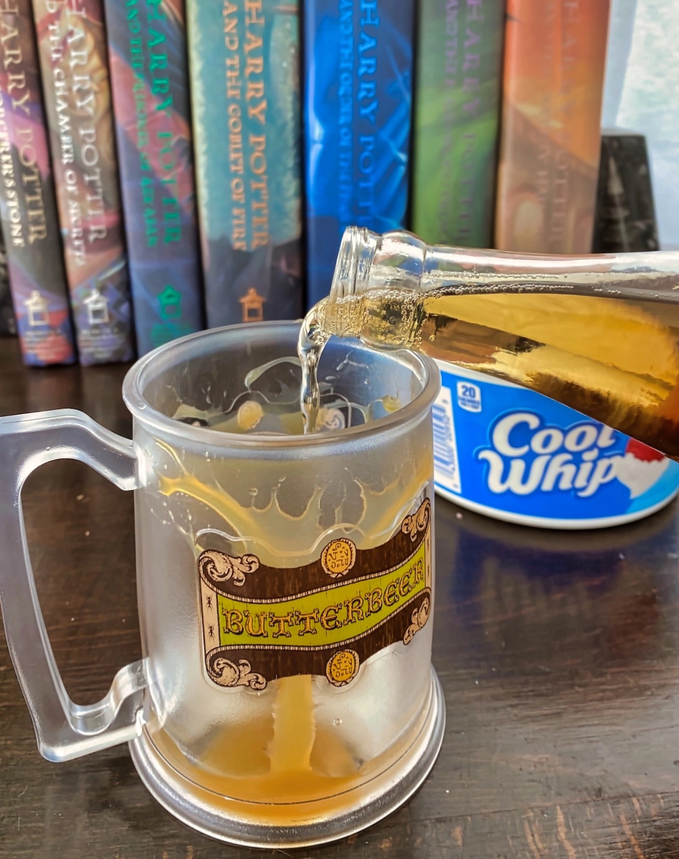 Butterbeer Recipe - Adding Ingredients