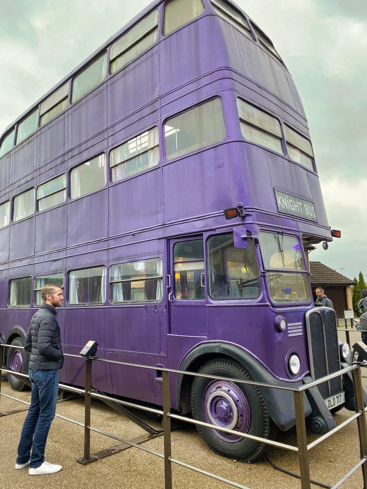 Harry Potter Studio Tour - Backlot - Knight Bus