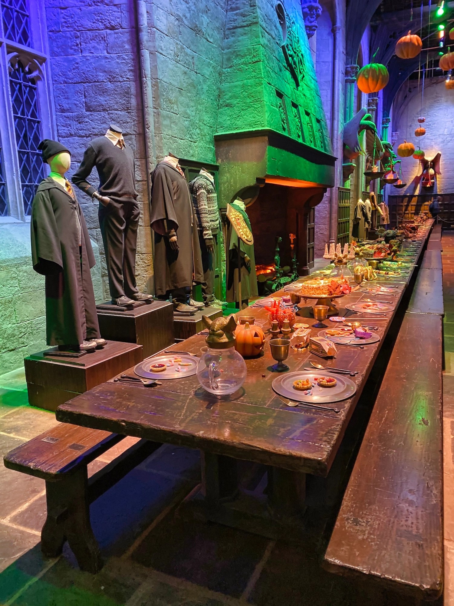 Harry Potter Studio Tour - Great Hall