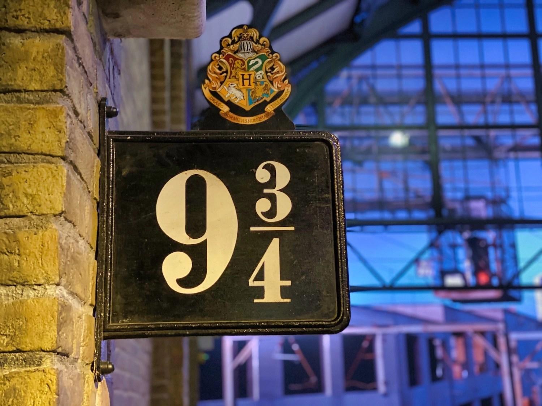 Harry Potter Studio Tour - Platform 9&3/4