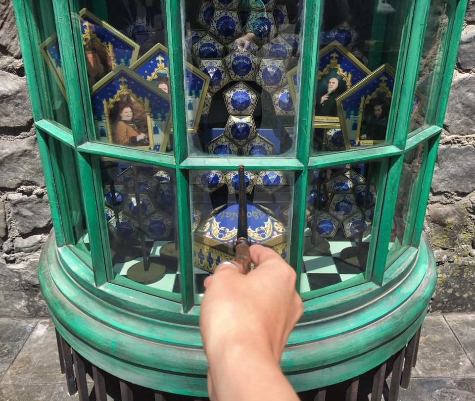 Harry Potter World Hollywood - Chocolate Frog Window