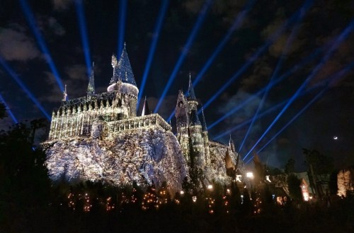Virtual Visit to Wizarding World - Night Lights at Hogwarts