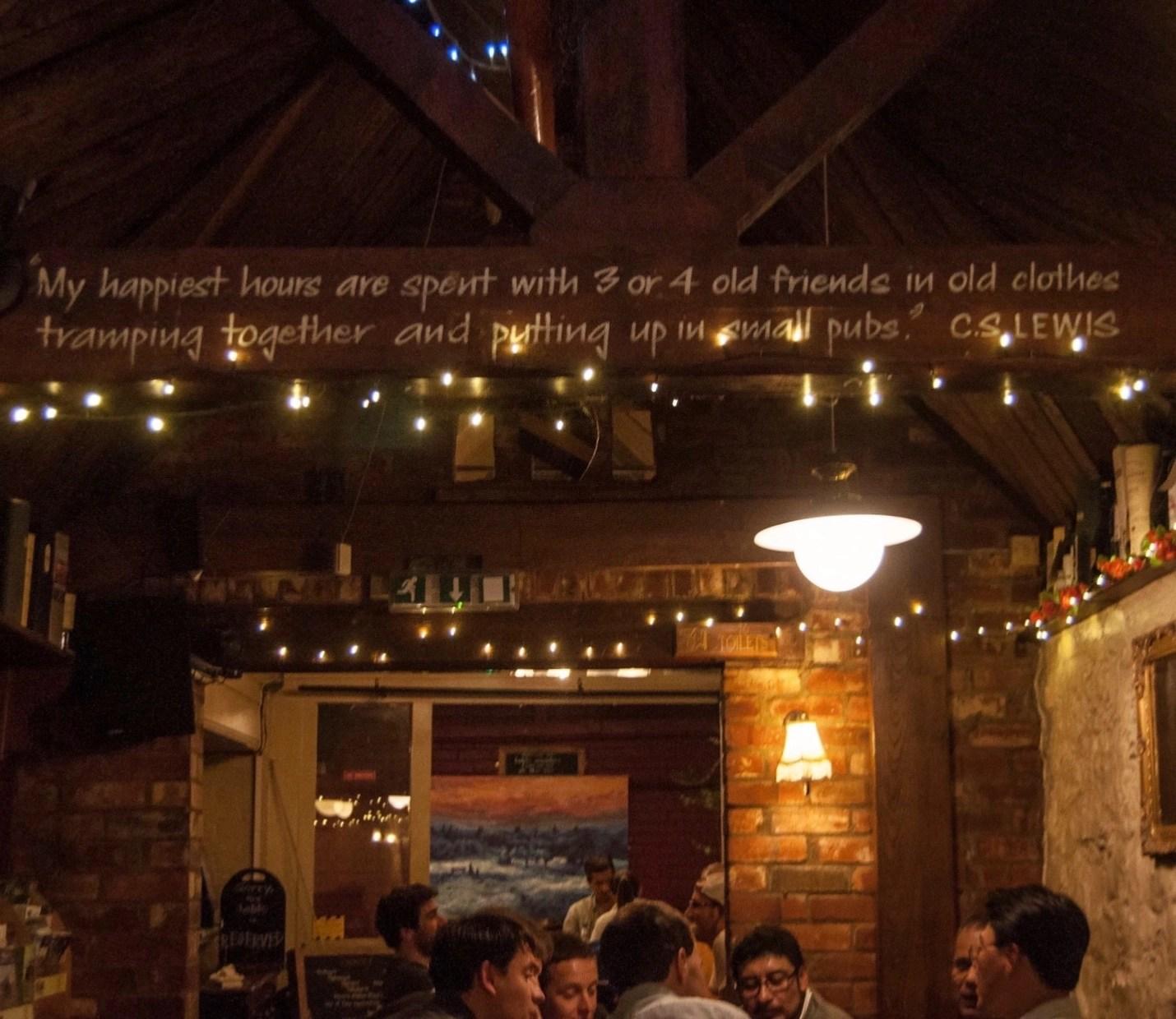 Eagle & Child Pub Interior - Meraj Chhaya via Flickr