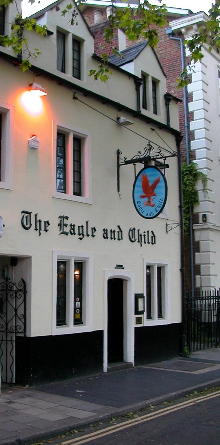 Eagle & Child Pub - oxfordmaps via Flickr
