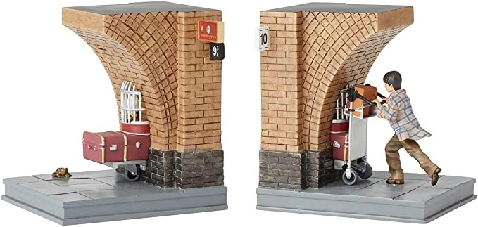 Harry Potter Office - Platform 934 Bookends