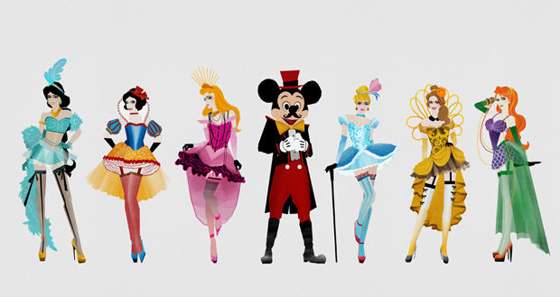 followthecolours-disney-burlesque