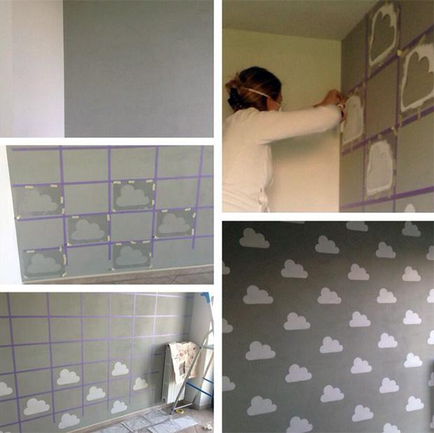 follow-the-colours-stencil-nuvem-parede-DIY-19