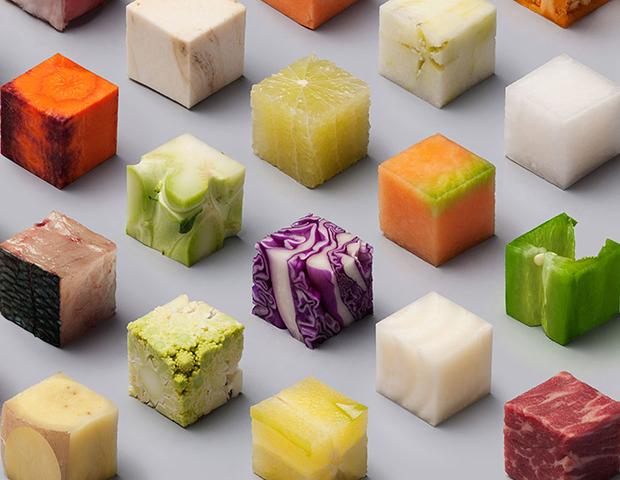Cubos Alimentos Lernert Sander