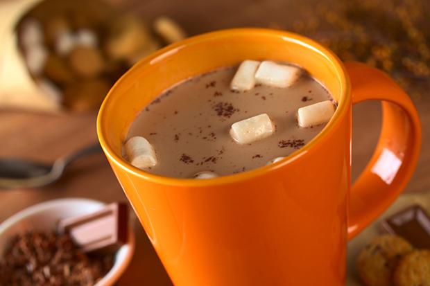 Laranja cores curiosidades caneca chocolate quente