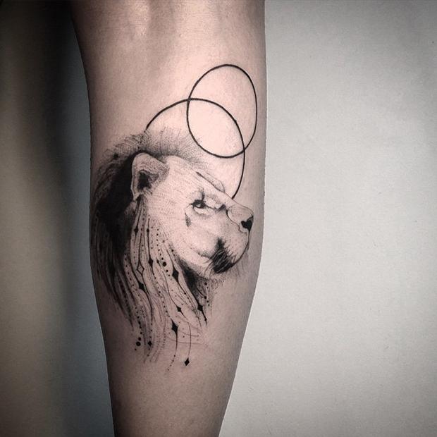 tattoo tatuagem daniel matsumoto leão