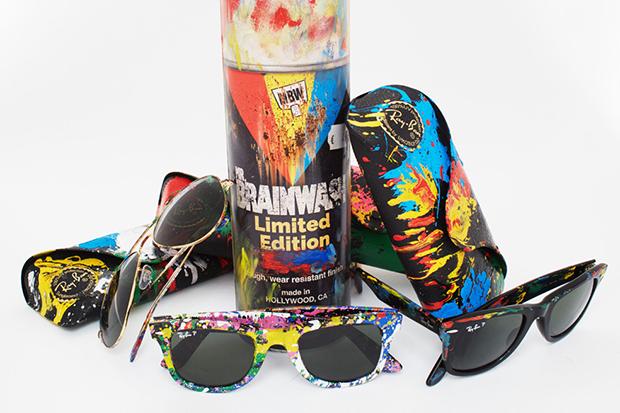 Sunglass hut Mr Brainwash Ray Ban coleção cores