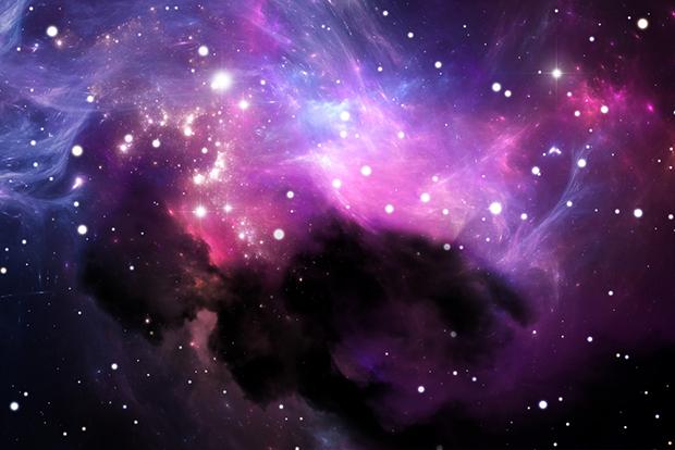 cores roxo lilás violeta significado curiosidades galáxia