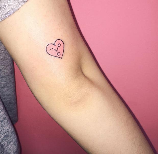 Kim Michey tatuagem tattoo love