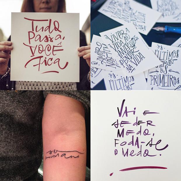 tipógrafos brasileiros calígrafos handlettering instagram Fábio Maca