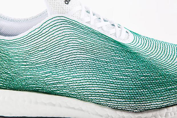 Adidas tênis materiais reciclados plástico oceano Primeknit 04
