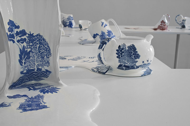 Cerâmicas derretidas Nomad Patterns livia marin