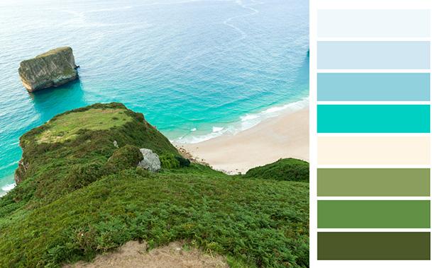 paleta de cores shutterstock_157712366
