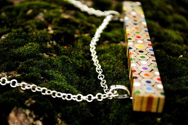 joias lápis de cor Anne Curlejova