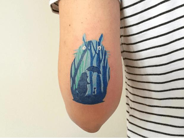 tattoo Baris Yesilbas