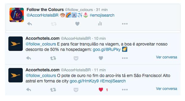 Accor hotels emoji search