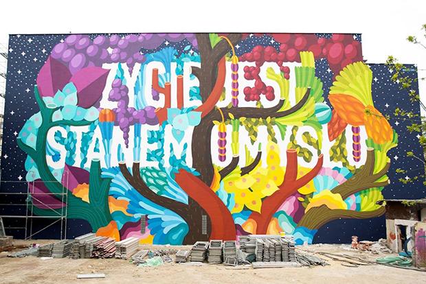 follow-the-colours-mural-lodz-polonia-BOA-MISTURA-Zycie-jest-stanem-umyslu