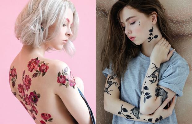 tattoos temporárias sasha unisex estée lauder