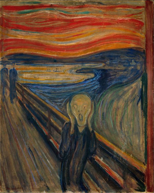 O Grito E Outras Obras No Seculo 19 Edvard Munch Ja Expressava