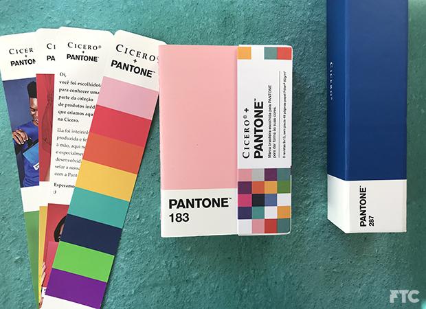 Cicero + Pantone  Marca brasileira é escolhida pela Pantone para dar ... 3faf064838b6
