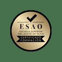 ESAO - certificado escuela superior de Aceite de Oliva